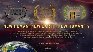 New Human Poster with Laurels