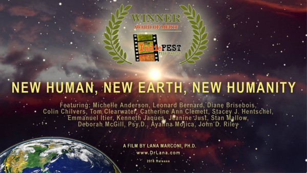 New Human Film Poster with Award_Director Lana Marconi
